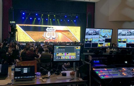 Repcon 2018 live event led wall