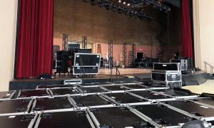 We provided a multitude of av equipment rentals including speaker rental, stage lighting installation and lighting rental, audio video rental, and led wall rental or installation