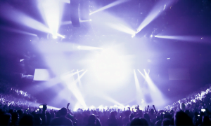 Visually stimulate your audience with event lighting including an led wall or simply stage lighting and light rentals